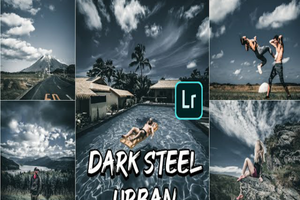 Rumus Lightroom Dark Steel Urban