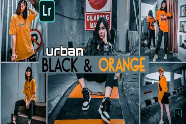 Rumus Lightroom Urban Black And Orange