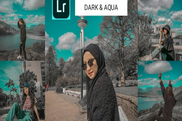 Rumus lightroom aqua dark